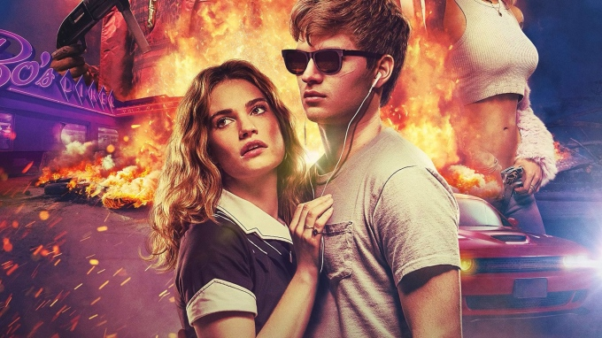 Ansel-Elgort-Lily-James-Baby-Driver